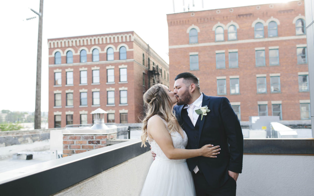 Tara + Alex – Steam Plant Wedding Preview // Spokane Wedding Photographer