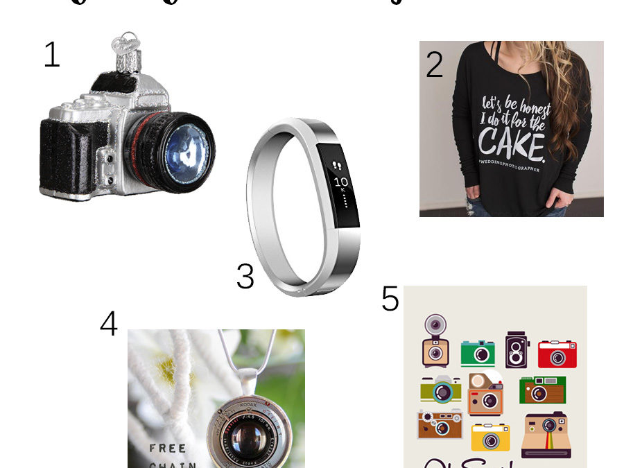 Christmas Shopping for Photographers & Creatives // Personal Post