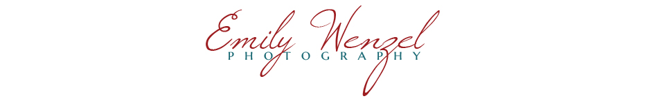 >>Spokane Wedding Photographer — Emily Wenzel Photography << logo